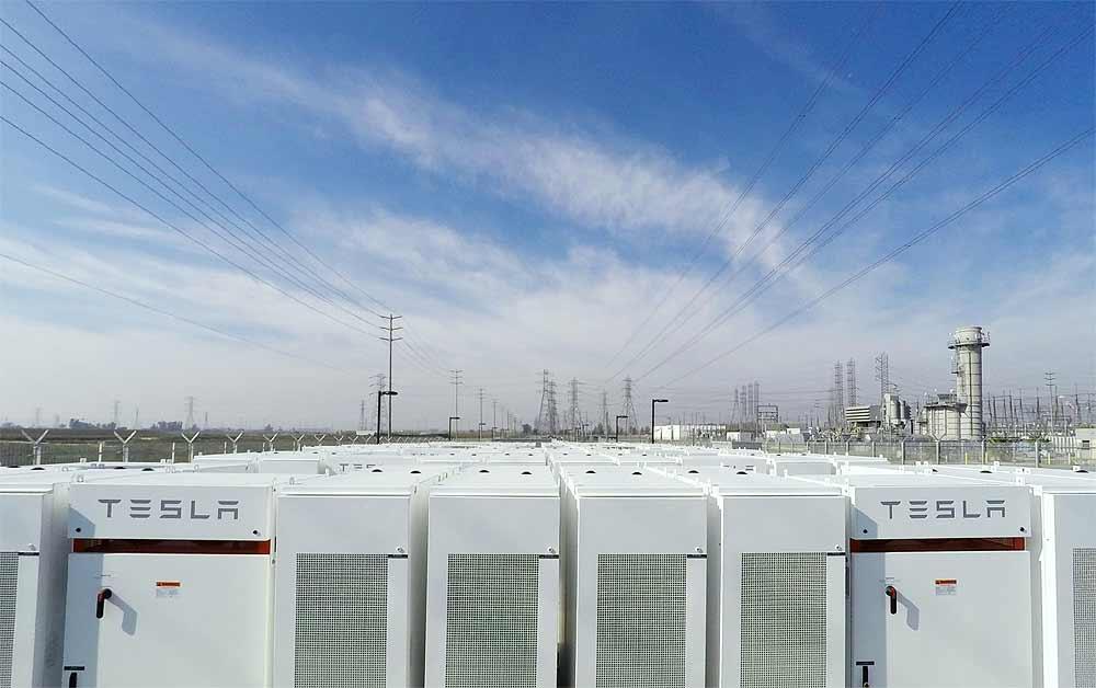 #Tesla запустила резервное хранилище энергии на литий-ионных аккумах [фото]