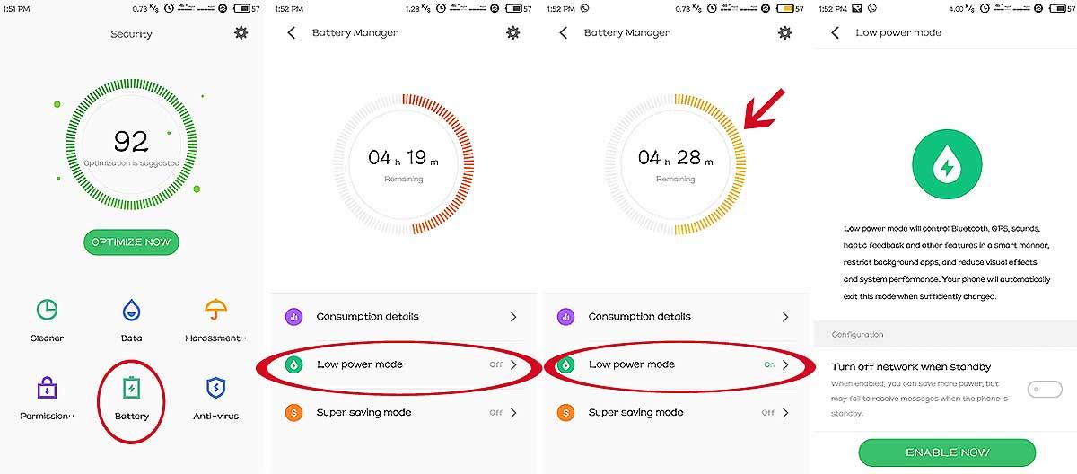 Flyme 6 на Meizu M3 Note: как включить режим энергосбережения - #Flyme6