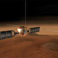 Такой близкий Марс: видео с низкой орбиты
