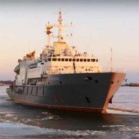 25 декабря спасательное судно «Игорь Белоусов» будет передано ВМФ [видео]
