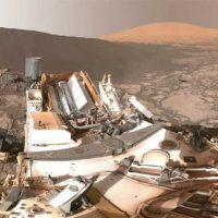 «Постоять» рядом с марсоходом возле дюны Намиб? [видео 360]