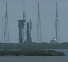 Ракета Atlas V 551 вывела на орбиту военный спутник MUOS 5 [видео]