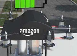 Док-станцию для зарядки дронов от уличного овещения запатентовала Amazon