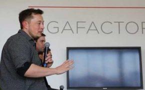 Гигафабрика Tesla начала свою работу [видео]