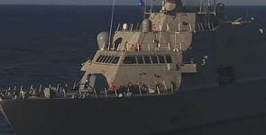 Lockheed Martin передал боевой корабль LCS-7 Detroit ВВС США [видео]