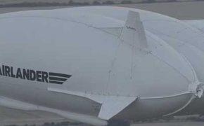 Первый тестовый полет мега-дирижабля Airlander 10 [видео]