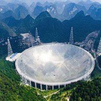 Самый большой в мире радиотелескоп FAST веден в эксплуатацию [видео]
