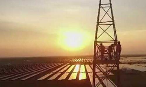 Очередная самая большая: солнечная электростанция Adani в Индии [видео]