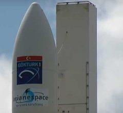 ЕКА вывела на орбиту спутником наблюдения Gokturk-1 для МО Турции [видео]