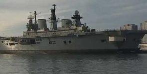 HMS Illustrious, последний из действующих авианосцев Её Величества ушел в утиль [видео]