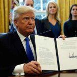 Дональд Трамп отменил запрет на строительство нефтепроводов #DakotaAccess и #KeystoneXL