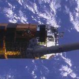 Kounotori-6: с первого раза собрать мусор на орбите не получилось [видео]