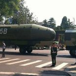 Китай произвел запуск баллистической DF-5C с 10 боеголовками