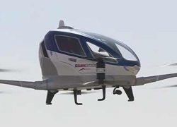 Летающий дрон-такси EHang 184 заказывает администрация Дубая [видео]