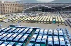 Китай — мировой лидер в производстве и эксплуатации электроавтобусов [видео]