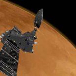 Орбитальный модуль миссис ExoMars начал торможение в атмосфере Марса [видео]