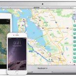 новые Maps для iOS с указанием маршрутов общественного транспорта