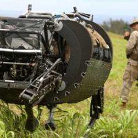 Военные гаджеты: Boston Dynamics LS3 AlphaDog