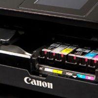 картриджи в струйнике Canon: как почистить?