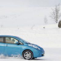 Морозостойкий вариант Nissan Leaf  протестирует в России