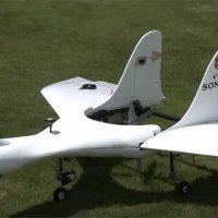 Sony представила коммерческий беспилотный самолет с вертикальным взлетом [видео]