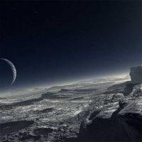 Пейзажи Плутона из иллюминатора космического корабля [видео]
