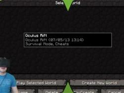 Поддержка Oculus Rift в Minecraft - как настроить