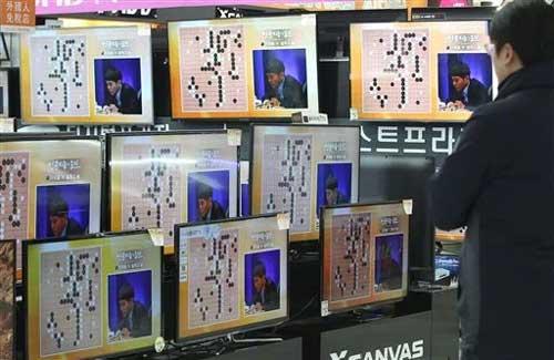 Человек против искусственного интеллекта в игре Го: уже 3:0 [видео]