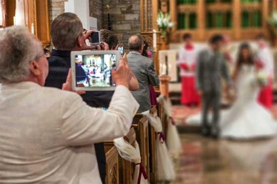 Unplugged wedding - стабильный свадебный тренд в Америке