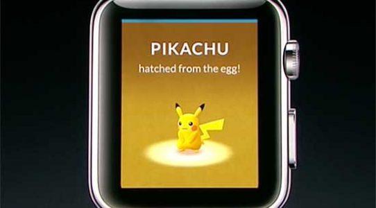 Pokemon Go на Apple Watch: как будет выглядеть приятное с полезным — #pokemongo