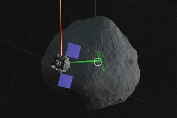 OSIRIS-REx успешно «потренировал» посадку на Астероид судного дня [видео]