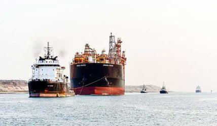 $4.5 млн за проход Суэцкого канала заплатил танкер Armada Kraken — новый рекорд