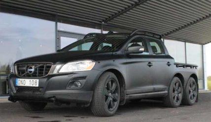 Volvo анонсировала новые пикапы XC60 6×6 и XC70