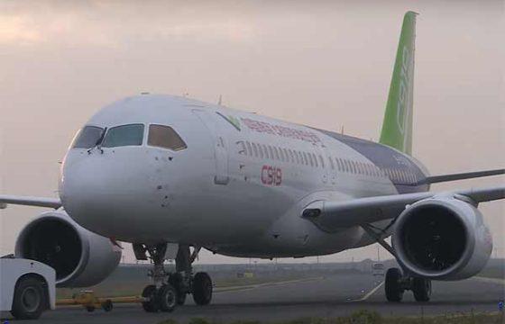COMAC получила 570 заказов на новый C919 еще до его первого полёта [видео]