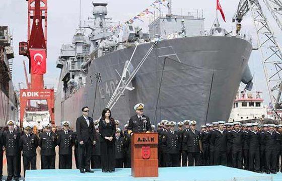Танкодесантный корабль L-402 Bayraktar торжественно передан в состав ВМС Турции [видео]