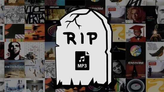 Знаменитый формат MP3 официально объявлен историей