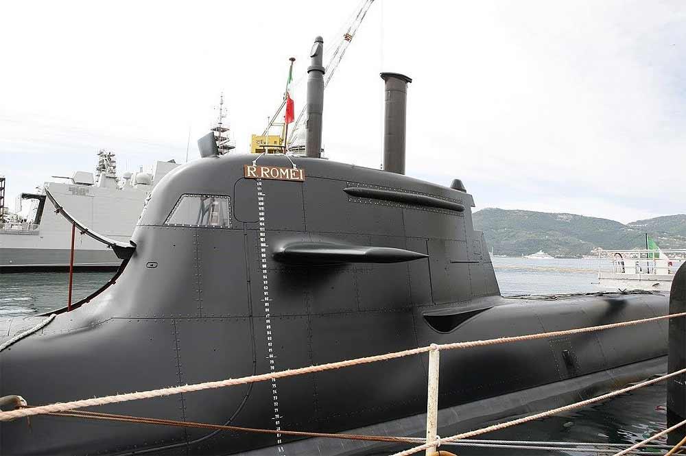 ВМС Италии 4-ю НАПЛ класса Type-U212A