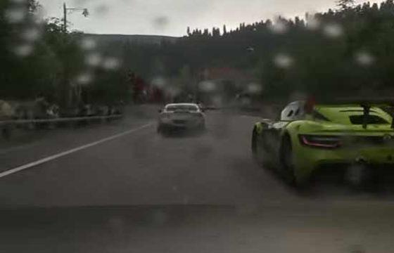 Forza 7 vs Driveclub — эффекты дождя на трассе [видео]