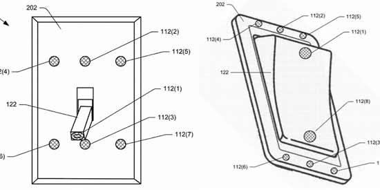 Amazon патентует переключатель с микрофонами и Alexa