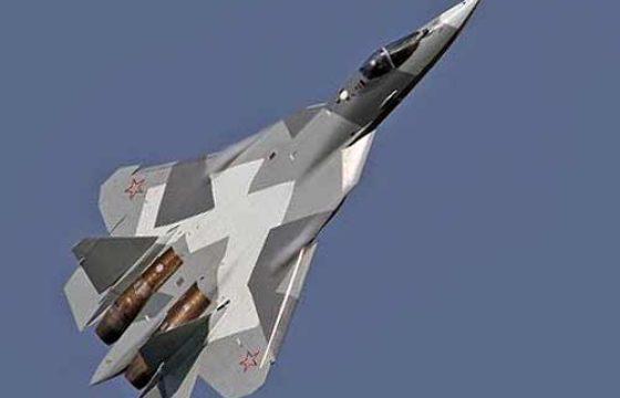 Истребитель Т-50 (ПАК ФА) официально получил индекс Су-57 [видео]