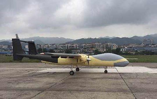 """Китайский TB001 """"Twin-tailed Scorpion"""" успешно совершил первый полёт [видео]"""