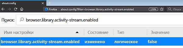 """Firefox 57: как убрать """"Избранное"""" из Новой вкладки браузера"""