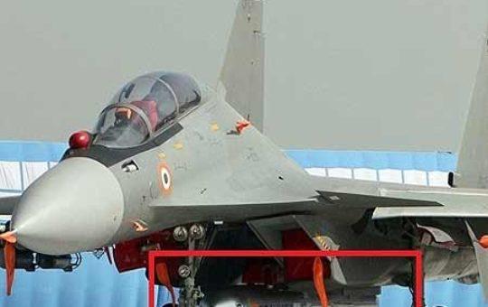 """Индийский Су-30МКИ успешно запустил сверхзвуковую КР """"Брамос"""" [видео]"""