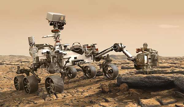 Mars 2020: NASA продемонстрировала концепт нового марсохода [видео]