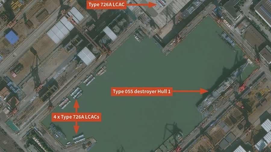 Китай возобновил строительство катеров на воздушной подушке классаYuyi [видео]