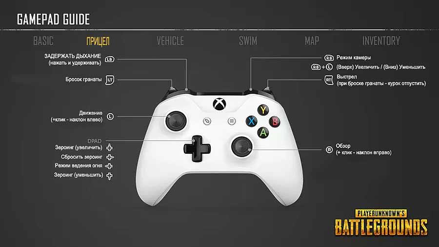 PUBG на Xbox One: как правильно прицелиться, как установить поправку