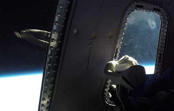 Все 11 минут космического тура на борту New Shepard [видео]