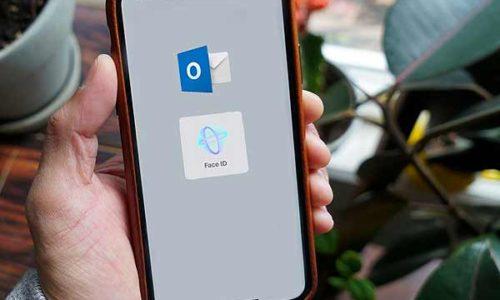 Outlook на iPhone: как запаролить почту Face ID или Touch ID