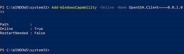 Нативный SSH клиент в Windows 10: как включить - #Windows10