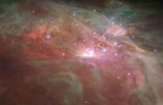 Как может выглядеть полет через туманность Ориона – видео NASA